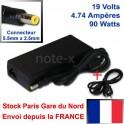 Alimentation chargeur Générique pour PC Portable LG - 19V - 4.74A - 5.5mm x 2.5mm