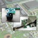Réparation du connecteur d'alimentation du pc portable