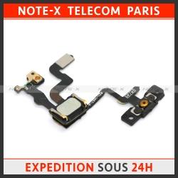 Nappe sonde capteur de proximité et bouton power On/Off pour iPhone 4S