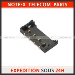 Nappe dock charge et micro avec bloc antenne réseau GSM et haut parleur pour iPhone 4S