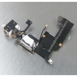 Nappe connecteur de charge, micro, prise jack audio antenne GSM pour iPhone 5S