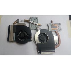 Ventilateur Fan avec radiateur HP 2000 431 430 630 631 Compaq CQ43 CQ57