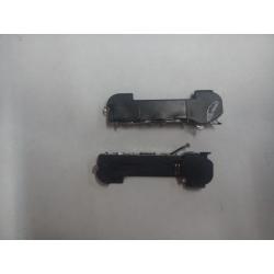 Nappe dock connecteur de charge avec micro pour iPhone 4 noir