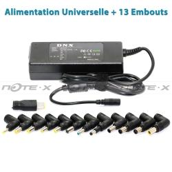 Alimentation secteur Generique pour PC Portable - ST208 - Chargeur Universel 90W 13 Connecteurs
