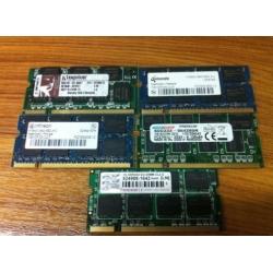 DDR DDR1 1GB 333Mhz - 333MZH PC2700 So-Dimm Mémoire Pour pc portable