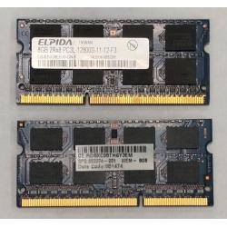 DDR3 8GB PC3L 1600MHZ PC12800S 8192Mo So-Dimm Mémoire Pour pc portable