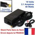 ALIMENTATION CHARGEUR COMPATIBLE POUR PC Portable - ST061 - 19V - 2.1A - 5.5mm x 2.5mm